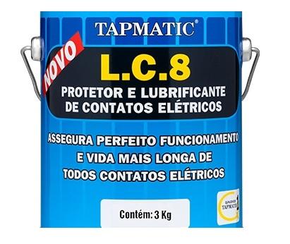 L. C. 8 - Protetor e Lubrificante de Contatos Elétricos QUIMATIC 2501a808eb